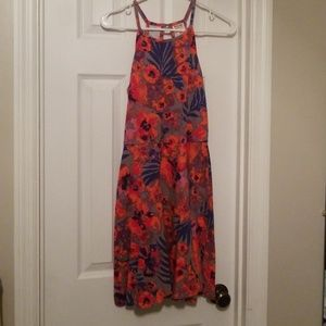 Mossimo Supply Co. Floral dress medium